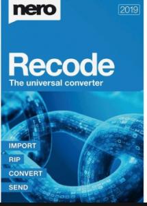 Nero Recode 2021 Crack & Serial Key Free Download